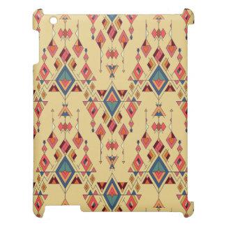 Ornement aztèque tribal ethnique vintage étui iPad