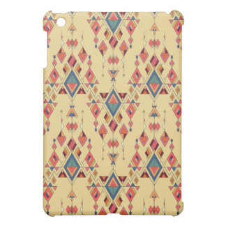 Ornement aztèque tribal ethnique vintage étui iPad mini