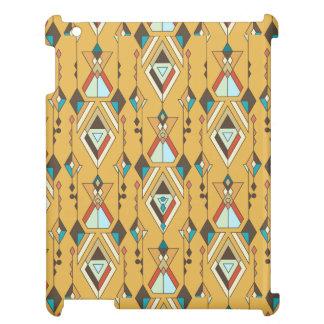 Ornement aztèque tribal ethnique vintage étuis iPad