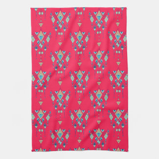 Ornement aztèque tribal ethnique vintage serviette éponge