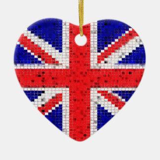 Ornement BRITANNIQUE de drapeau