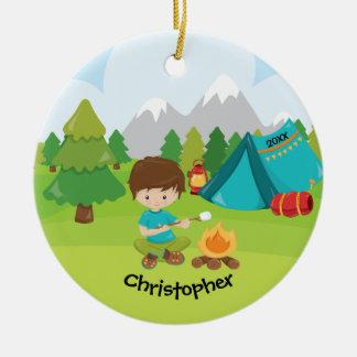 Ornement campant personnalisé unique de Noël