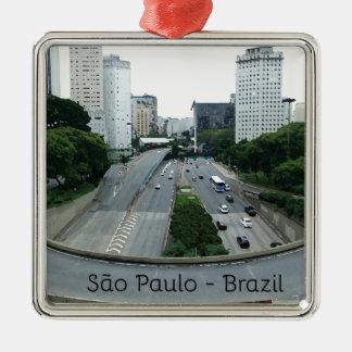 Ornement Carré Argenté 23demaio avenue São Paulo