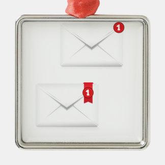 Ornement Carré Argenté 91Mailbox Icon_rasterized vigilant