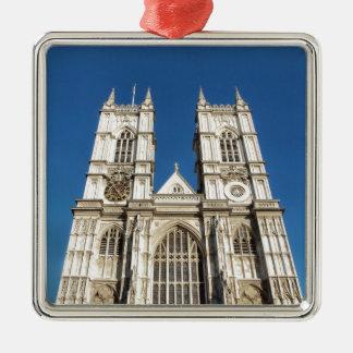 Ornement Carré Argenté Abbaye de Westminster