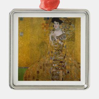 Ornement Carré Argenté Adele Bloch Bauer par Gustav Klimt