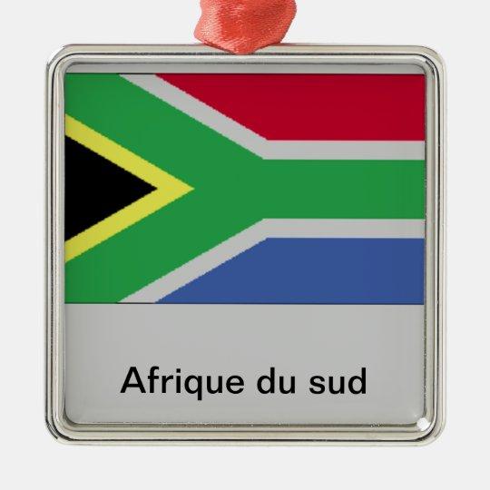Ornement Carré Argenté Afrique du sud