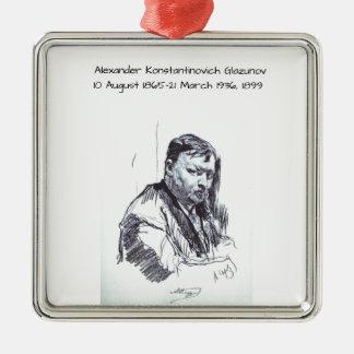Ornement Carré Argenté Alexandre Konstantinovich Glazunov 1899