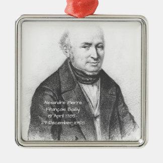 Ornement Carré Argenté Alexandre Pierre Francois Boely