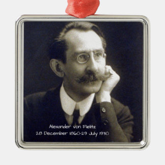 Ornement Carré Argenté Alexandre von Fielitz