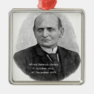 Ornement Carré Argenté Alfred Heinrich Ehrlich