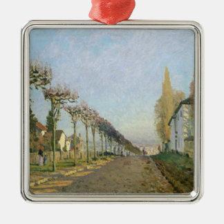 Ornement Carré Argenté Alfred Sisley | Rue de la Machine, Louveciennes