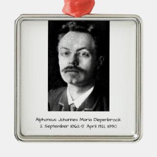 Ornement Carré Argenté Alphons Johannes Maria Diepenbrock 1890