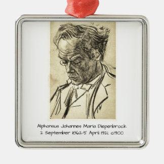 Ornement Carré Argenté Alphons Johannes Maria Diepenbrock 1900