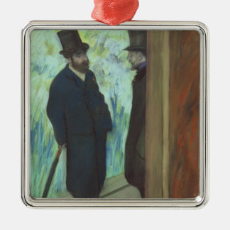Ornement Carré Argenté Amis d'Edgar Degas | au théâtre