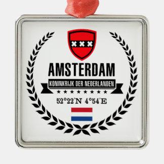 Ornement Carré Argenté Amsterdam