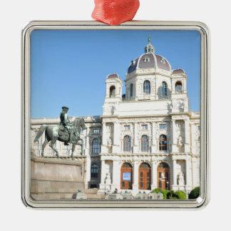 Ornement Carré Argenté Architecture à Vienne, Autriche