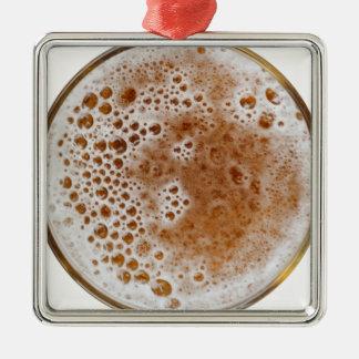 Ornement Carré Argenté Bière