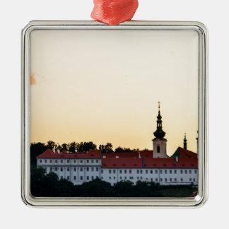 Ornement Carré Argenté Castle in Prague