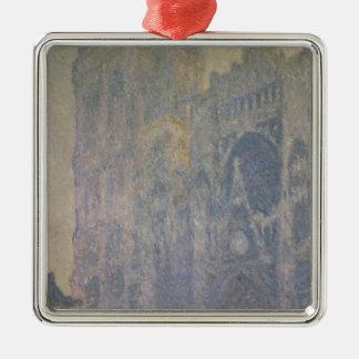 Ornement Carré Argenté Cathédrale de Claude Monet | Rouen, harmonie dans