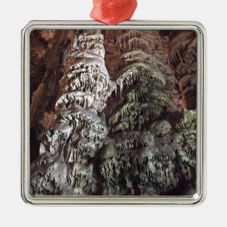 Ornement Carré Argenté Cavernes du Gibraltar