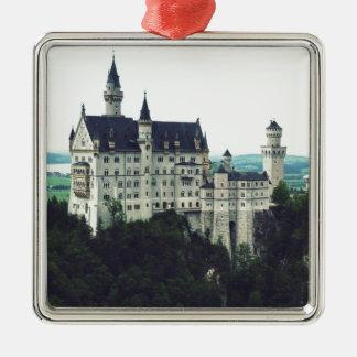 Ornement Carré Argenté Château de Neuschwanstein