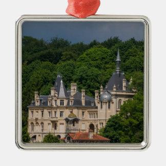 Ornement Carré Argenté Château de Pierrefonds