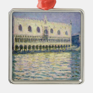 Ornement Carré Argenté Claude Monet | Palace ducal, Venise, 1908