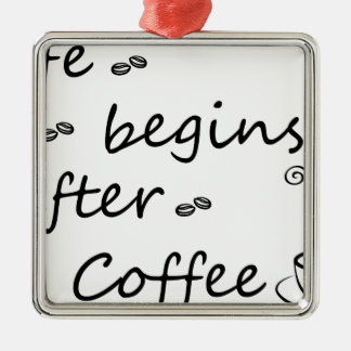 Ornement Carré Argenté coffee18