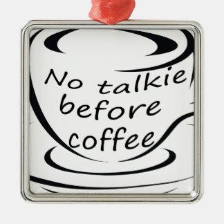 Ornement Carré Argenté coffee22