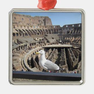 Ornement Carré Argenté Colosseum, Rome, Italie