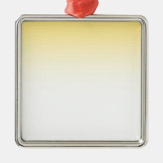 Ornement Carré Argenté Couleur abstraite - orange