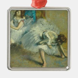 Ornement Carré Argenté Edgar Degas | avant le ballet, 1890-1892