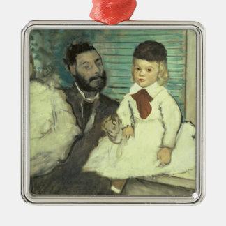 Ornement Carré Argenté Edgar Degas | Comte Le Pic et ses fils