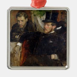 Ornement Carré Argenté Edgar Degas | Jeantaud, Linet et Laine, 1871