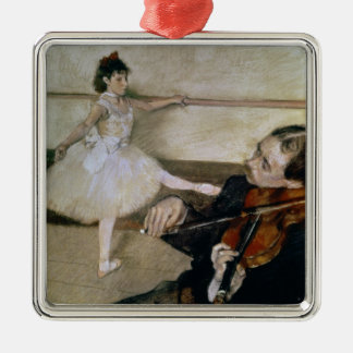 Ornement Carré Argenté Edgar Degas | la leçon de danse, c.1879