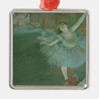 Ornement Carré Argenté Edgar Degas | l'arc de l'étoile, c.1880