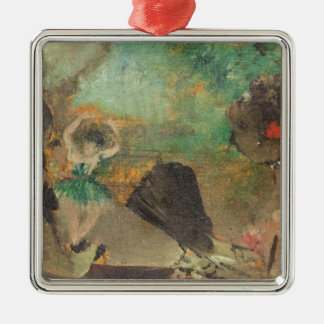 Ornement Carré Argenté Edgar Degas | le Loge, c.1883