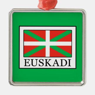 Ornement Carré Argenté Euskadi