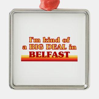 Ornement Carré Argenté Genre d'I´m d'affaire à Belfast