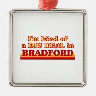 Ornement Carré Argenté Genre d'I´m d'affaire à Bradford