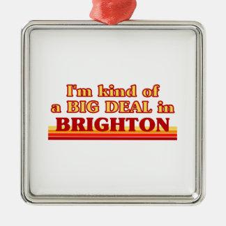 Ornement Carré Argenté Genre d'I´m d'affaire à Brighton