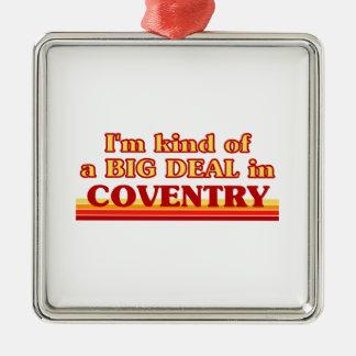 Ornement Carré Argenté Genre d'I´m d'affaire à Coventry