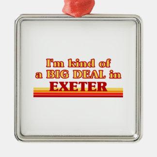 Ornement Carré Argenté Genre d'I´m d'affaire à Exeter