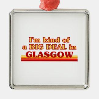 Ornement Carré Argenté Genre d'I´m d'affaire à Glasgow