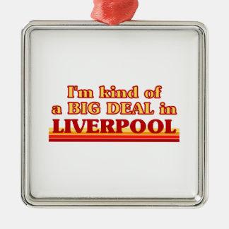 Ornement Carré Argenté Genre d'I´m d'affaire à Liverpool