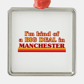Ornement Carré Argenté Genre d'I´m d'affaire à Manchester