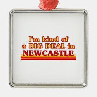 Ornement Carré Argenté Genre d'I´m d'affaire à Newcastle