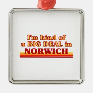 Ornement Carré Argenté Genre d'I´m d'affaire à Norwich