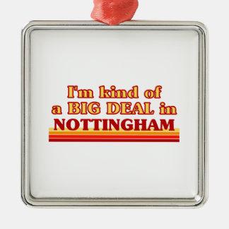 Ornement Carré Argenté Genre d'I´m d'affaire à Nottingham